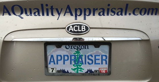 Oregon Certified Appraiser License