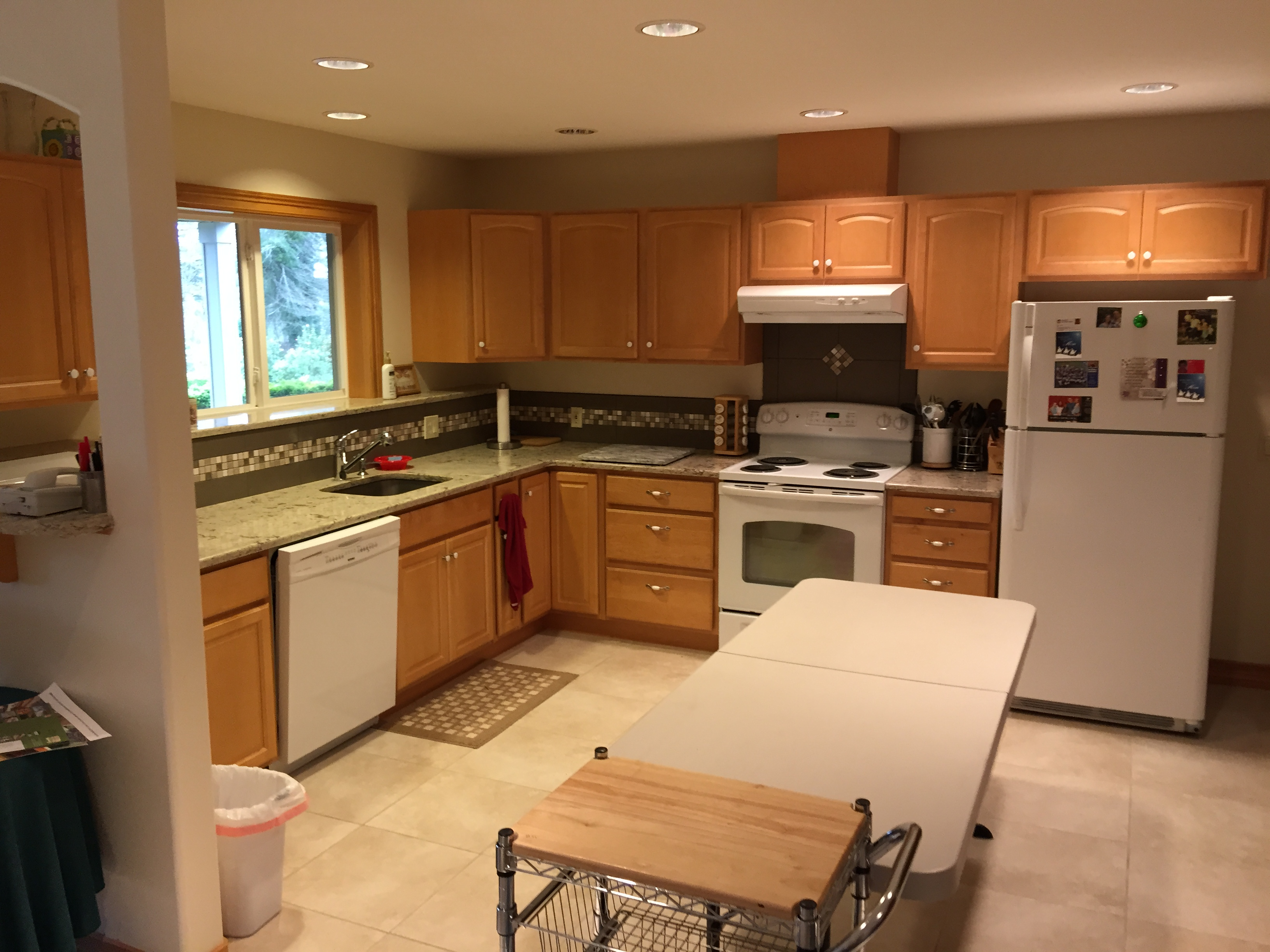 Portland Appraiser Basement Kitchen