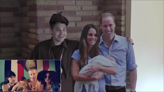 Portland Appraiser Macklemore - Prince William, Kate Middleton, and Prince George