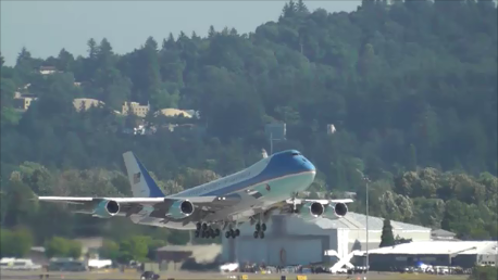 Portland Appraiser - Air Force One at Portland