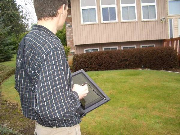 Portland Appraiser on Inspection