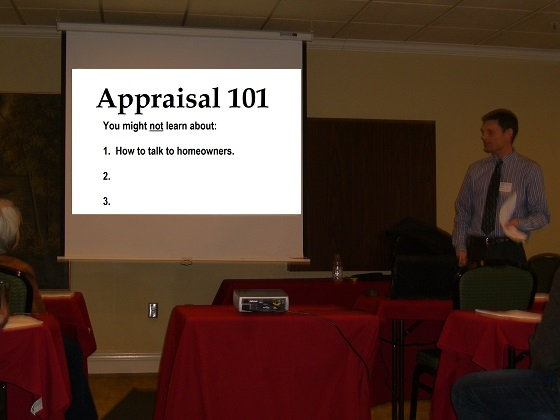 What you did not learn in appraisal school